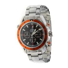 Omega Seamaster Planet Ocean Automatic Black Dial With Orange Bezel