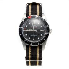 Rolex Milgauss Automatic Black Dial with Nylon Strap-Vintage Edition-8