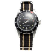 Rolex Milgauss Automatic Black Dial with Nylon Strap-Vintage Edition-1