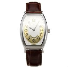 Patek Philippe Gondolo White Dial with Leather Strap-Lady Size-2