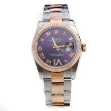 Rolex Datejust Automatic Two Tone Oyster Case WIth Blue Dial-Same Classic as Swiss Version-1