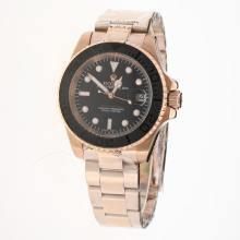 Rolex Yachtmaster Automatic Full Rose Gold with Black Dial
