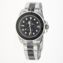 Rolex Yachtmaster Automatic with Black Dial S/S-2