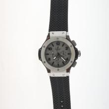 Hublot Big Bang Automatic with Gray Dial-Rubber Strap