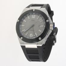 IWC InGenieur Working GMT Automatic with Gray Dial-Rubber Strap-1