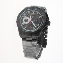 Tag Heuer Carrera CAL. HEUER 01 Working Chronograph Full PVD with Black Dial