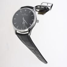 Jaeger-Lecoultre Master Control 29J Automatic with Black Dial-Leather Strap