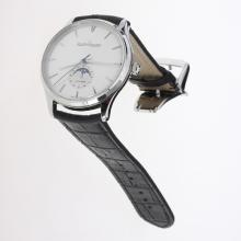 Jaeger-Lecoultre Master Control 29J Automatic with Silver Dial-Leather Strap