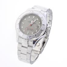 Rolex Yachtmaster Automatic with Gray Dial S/S