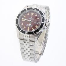 Rolex Submariner Automatic with Brown Dial S/S-Vintage Edition