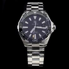 Tag Heuer Aquaracer Calibre 5 Ceramic Bezel Stick Markers with Black Dial S/S
