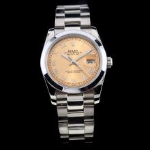Rolex Datejust Automatic Roman Markers with Champagne Dial S/S