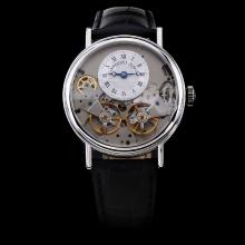 Breguet Tradition Tourbillon Automatic with Silver Dial-Leather Strap