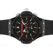 Hublot Big Bang Luna Rossa Working Chronograph PVD Gehäuse Mit Black Carbon Fibre Style-Dial-48MM Version