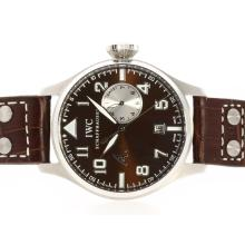 IWC Big Pilot Working Power Reserve Mit Brown Dial Und Strap-Antoine St. Exupery Limited Edition