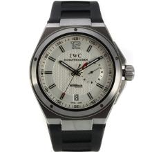 IWC Ingenieur Working Power Reserve Automatic Mit Weißem Zifferblatt-Kautschuk-Armband